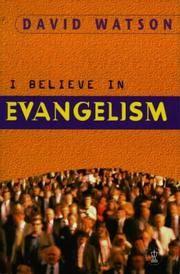 I Believe in Evangelism (Hodder Christian Paperbacks)