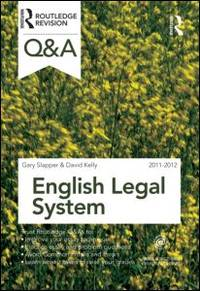 Q&A English Legal System 2011-2012 (Questions and Answers)