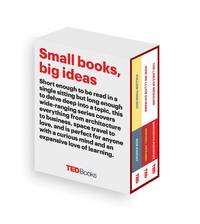 TED Books Box Set: The Science Mind: Follow Your Gut, How Well Live on Mars, and The Laws of...