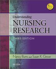 UNDERSTANDING NURSING RESEARCH, 3/E