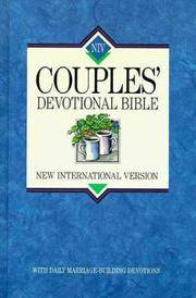 NIV Couples Devotional Bible: New International Version