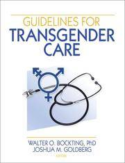 Guidelines For Transgender Care