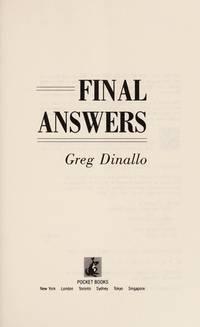 Final Answers:   A Novel