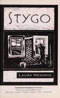 Stygo. by Laura Hendrie - Paperback - First Edition Thus (1995), First Printing indicated by a complet - 1995. - from Black Cat Hill Books and Biblio.com