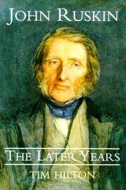 John Ruskin; The Later Years