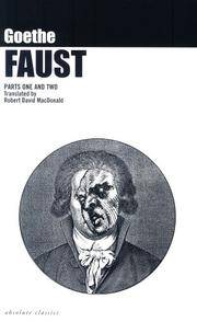 Faust: A Tragedy Parts One and Two