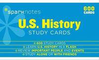 U.S. History SparkNotes Study Cards, 600 Cards