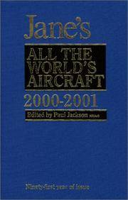 JANE'S ALL THE WORLD'S AIRCRAFT 2000-2001