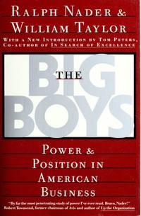 The Big Boys [Paperback] Nader, Ralph