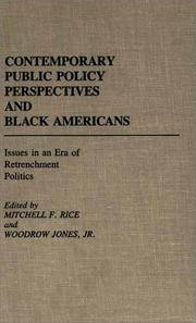 Contemporary Public Policy Perspective and Black Americans
