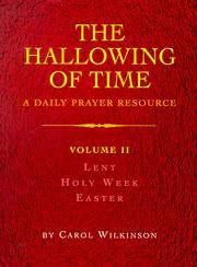 image of The Hallowing of Time (Volume 2)