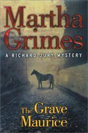 image of The Grave Maurice (A Richard Jury Mystery) (Abridged)