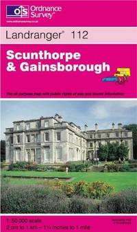 Scunthorpe and Gainsborough (Landranger Maps)