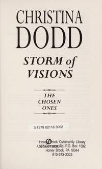 image of Storm of Visions (Hardcover BCE) (The Chosen Ones, 1)