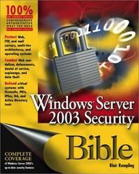 Windows Server 2003 Security Bible