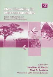 New Thinking in Macroeconomics : Social, Institutional, and Environmental Perspectives