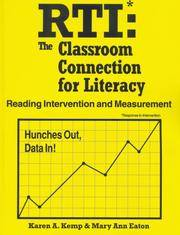 RTI: The Classroom Connection for Literacy