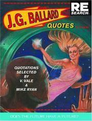 J.G. Ballard: Quotes