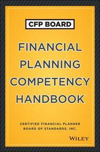 CFP Financial Planning Competency Handbook