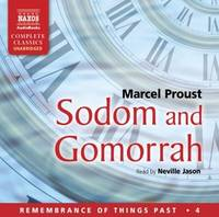 Sodom and Gomorrah (Remembrance of Things Past) [CD] Audiobook