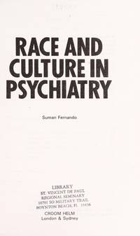Race and Culture in Psychiatry