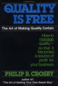 image of Quality Is Free : The Art of Making Quality Free