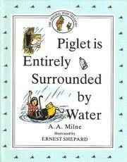 Piglet Is Entirely Surrounded By Water