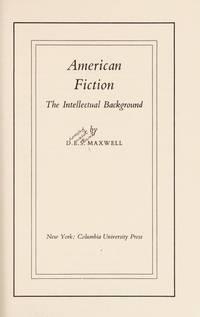 Maxwell: American Fiction (Cloth)