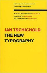 image of The New Typography (Weimar and Now: German Cultural Criticism (Paperback))