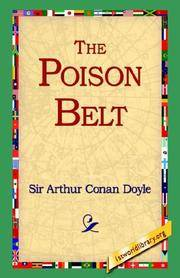 The Poison Belt by Arthur Conan Doyle - Hardcover - 2005-10-12 - from Ergodebooks and Biblio.com