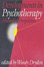 Developments In Psychotherapy