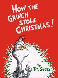 How The Grinch Stole Christmas Book Cover.How The Grinch Stole Christmas By Dr Seuss First Edition 1957 From Francois Books And Biblio Com