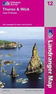LR012 Thurso and Wick, John O'groats (Landranger Maps)