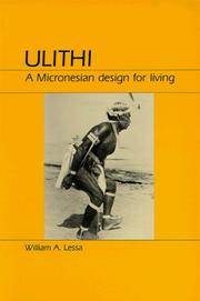 Ulithi - A Micronesian Design For Living