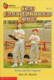 image of Kristy and the Copycat (Baby-Sitters Club)