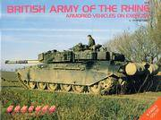 British Army of the Rhine Armoured Vehicles on Exercise