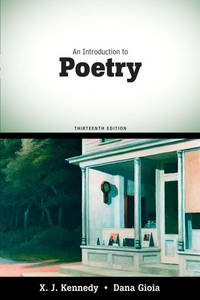 Introduction to Poetry, An (13th Edition)