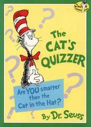 image of The Cat's Quizzer (Dr.Seuss Classic Collection)