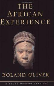 image of The African Experience: From Olduvai Gorge to the 21st Century (History of Civilization)