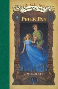image of Peter Pan Deluxe Book and Charm (Charming Classics)