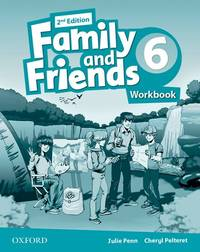 FAMILY & FRIENDS 2E 6 WB