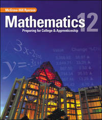 Mathematics: Preparing for College & Apprenticeship 12