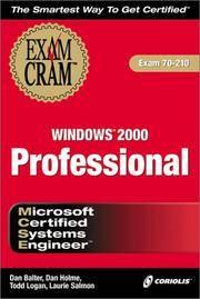MCSE Windows 2000 Professional Exam Cram (Exam 70-210)