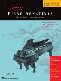 Piano Sonatinas - Book Three: Developing Artist Original Keyboard Classics (The Developing Artist)