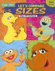 image of Sesame Street Let's Compare Sizes Wipe-Off Workbook: Ages 2 to 4