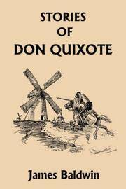 image of Stories of Don Quixote Written Anew for Children (Yesterday's Classics)
