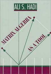 Matrix Algebra as a Tool (Alexander Kugushev Series)
