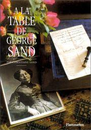 A la Table de George Sand (French Edition)