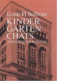 image of Kindergarten Chats and Other Writings (Dover Architecture)