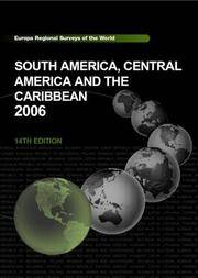 South America, Central America, and the Caribbean 2006 (Regional Surveys of the World)